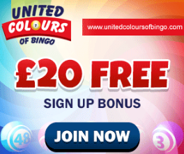 UNITED COLOURS OF BINGO